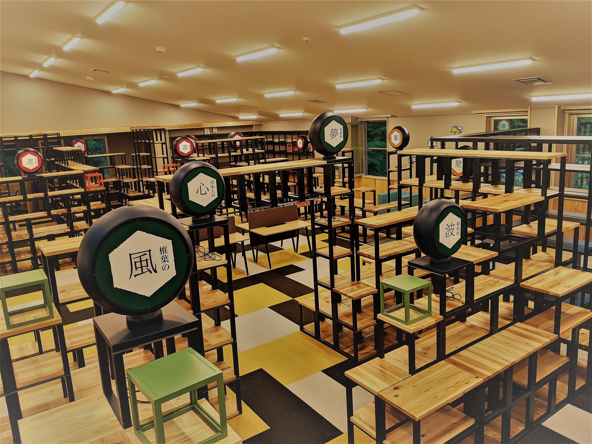 図書館の全景